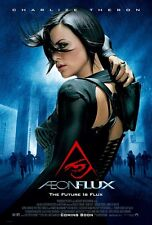 AEON FLUX MOVIE POSTER Double Sided ORIGINAL 27x40 CHARLIZE THERON