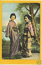 Japanese Postcard - Two Geisha Japan Pck Series