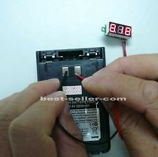 GVM-30 Mini Voltage Meter with Digital Display,Operated Voltage range:DC 2.4~30V