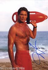 David Hasselhoff 8 x 10 Autograph Reprint Baywatch Knight Rider Love Boat