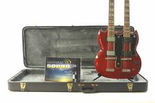 2007 Epiphone G-1275 SG Double Neck Electric Guitar - Cherry Flame w/OHSC
