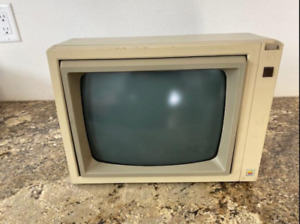 "Apple Monitor A2M2010 12"" Green Phosphor Monitor"