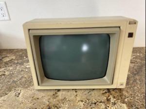 "Apple Monitor A2M2010 12"" Green Phosphor Monitor"