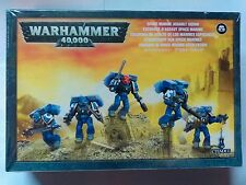 Space Marine Assault Squad, 5 model multi-part plastic kit, 40k - BNIB