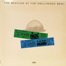 THE BEATLES AT THE HOLLYWOOD BOWL GATEFOLD 1977 RELEASE 33 VINYL LP RECORD EXLT