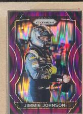Jimmie Johnson 5 2018 Panini Prizm Purple Flash Prizm - Photo Var Suit