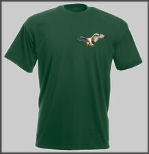 FALCONRY BIRD OF PREY T SHIRT HARRIS HAWK EAGLE FALCON RAPTOR HUNTING