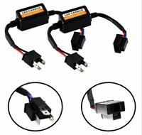 2PCS H4 9003 HB2 LED Headlight Canbus Error Free Anti Flicker Resistor Decoders