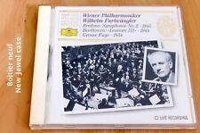 Furtwängler - Brahms Symphonie 2 - Beethoven Léonore Grosse Fugue op 133- CD DGG