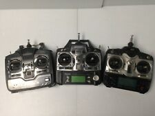 * 3 Mixed Radio Remotes (Jr Xp6102) (Futaba T7Chp) (Hitec Laser 4)