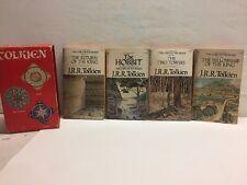 Lord Of The Rings J R R Tolkien Paperback Return Of King Hobbit 2 Towers