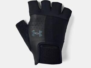 Under Armour Men's UA Weightlifting Gloves Half Finger Workout Gloves 1328620