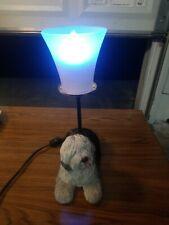 "13"" English Sheepdog Nightlight Novelty Lamp Bar Light kids lamp small bulb"