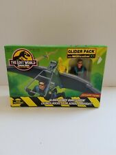 Jurassic Park The Lost World Glider Pack with Deluxe Ian Malcolm Kenner 1996 NIB
