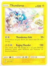 Thundurus 68//236 Pokemon Card Playset 4x Cards SM Unified Minds