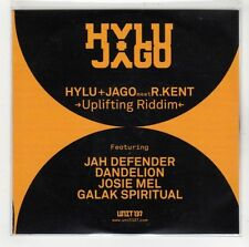 (GI545) Hylu + Jago meet R Kent, Uplifting Riddim - 2013 DJ CD