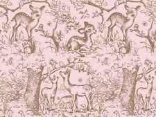 "Pink Lullaby Meadow Tissue Paper ~ Baby Deer # 249 ~ 10 Sheets - 20"" x 30"""