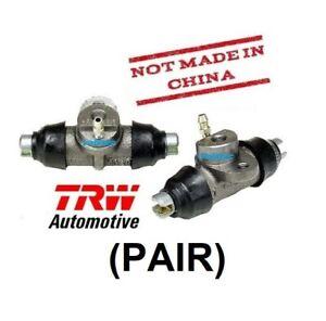(PAIR) TRW Rear Brake Wheel Cylinders VW Volkswagen Beetle Bug Ghia 1958-1964