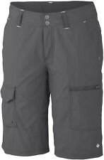 Columbia Ladies Silver Ridge Cargo Short 06 Charcoal 10in