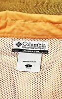 Columbia PFG Men's Button Down Shirt Long Sleeve Size Large Orange Color B5-11