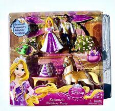 Disney Princess Rapunzel's Wedding Party Tangled Figurines Mattel Age 3+ NIB New