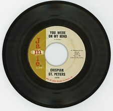 Crispian St. Peters 1966 Jamie 45rpm You Were On My Mind b/w What I'm Gonna Be