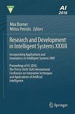 Research and Development in Intelligent Systems XXXIII: Incorporating Applicatio
