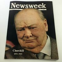 VTG Newsweek Magazine February 1 1965 - Winston Churchill 1874-1965 / Newsstand