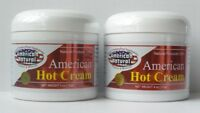 2 JAR HOT CREAM FAT BURNER CREMA REDUCTORA 4 Oz LIPO GEL REDUCTOR QUEMA GRASA