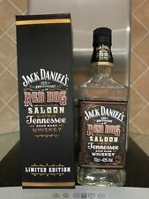 Jack daniels Red dog bottle and box 125th anniversary limited edition