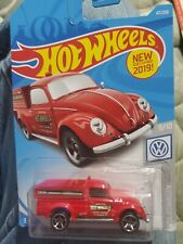 2019 HOT WHEELS '49 VOLKSWAGEN BEETLE PICKUP Sales Service Fabrication RED