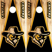 Centre Colonels Cornhole Wrap NCAA Skin Decal Vinyl Mascot Set AK30