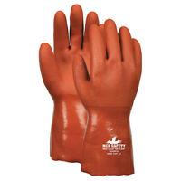 "Mcr Safety 6620Kvxxl 12"" Chemical Resistant Gloves, Pvc, 2Xl, 12Pk"