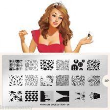 MoYou London Princess 9 Collection Stamping Schablone Rose Reissverschluss