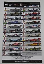 2016 Barber Indy Car Spotter Guide Montoya Helio Dixon Kanaan Power Pagenaud
