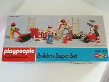 Playmobil / PlayPeople Construction - Builders Super Set (OVP, Marx, Klicky)