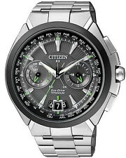 Citizen Satellite Wave H950 Titanium watch. Advanced Satellite Time. CC1084-55E