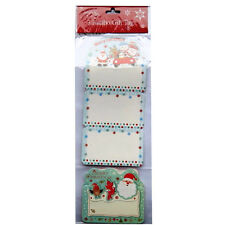 Christmas Large Sack / Gift Tags - Pack of 3 - 230mm x 108mm