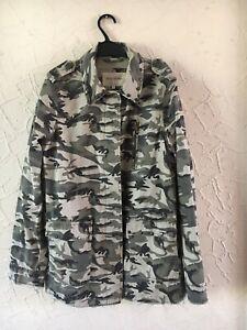 River Island Camouflage Jacket Size 10/12