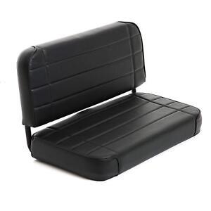 Smittybilt 8001N Standard Rear Seat (Black) for 55-95 Jeep CJ & Wrangler (YJ)