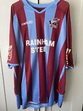 Scunthorpe United Rob Jones match worn signed football shirt.