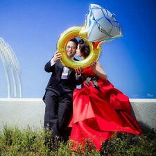 Fashion Diamond Ring Foil Helium Balloon Wedding Engagement Party Decoration
