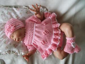 Reborn - Ausfahrgarnitur Gr. 52 - 54cm  Baby Puppen SOMMERSET