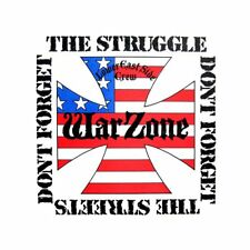 """WARZONE - DON'T FORGET THE STRUGGLE DON'T FORGET THE STREETS 12"""" COLOR VINYL"""