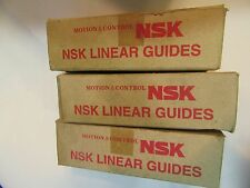 NEW (Pack of 3) NSK Motion & Control S/N15 Linear Guides LAS15AL
