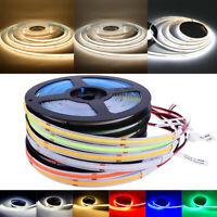 RGB COB LED Strip Tape Lights 12V 224LED/M Waterproof Under Cabinet Light Decor