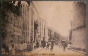 1911,Chinese Revolution,Shanghai, Honan Road, sent by U.S. sailor who was there