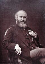 Composer Charles Gounod orig 1880s Photo & French magazine