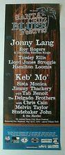 9Th Annual 2001 Santa Cruz Blues Festival Music Poster, Aptos, Calif.