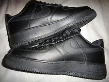 Nike Force 1 bajo Negro Baloncesto Air zapatos talla 8 315122-001